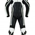 NEW MOTORBIKE MOTOGP MOTORCYCLE RACING SUIT ART DC3755 BLACK AND WHITE COLOR  SIZE S