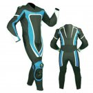 NEW MOTORBIKE MOTOGP MOTORCYCLE RACING SUIT ART DC6920 BLACK AND BLUE  COLOR  SIZE 6XL