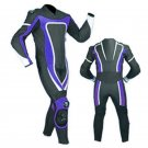 NEW MOTORBIKE MOTOGP MOTORCYCLE RACING SUIT ART DC6920 BLACK AND BLUE  COLOR  SIZE S