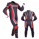 NEW MOTORBIKE MOTOGP MOTORCYCLE RACING SUIT ART DC6920 BLACK AND RED  COLOR  SIZE 6XL