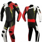 NEW MOTORBIKE MOTOGP MOTORCYCLE RACING SUIT ART DC2497 BLACK AND RED  COLOR  SIZE XS