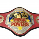 MEGA POWERS CHAMPION HARDCORE WRESTLING CHAMPIONSHIP BELT ADULT SIZE