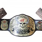 SMOKING SKULL STONE COLD STEVE AUSTIN SNAKE SKIN WORLD HEAVYWEIGHT WRESTLING CHAMPIONSHIP BELT