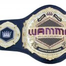 WAMMA WORLD ALLIANCE OF MIXED MARTIAL ARTS UNDISPUTED ONE BELT ONE KING WRESTLING CHAMPIONSHIP BELT