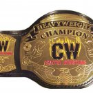 CW CHOATIC WRESTLING HEAVYWEIGHT CHAMPIONSHIP BELT ADULT SIZE