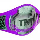 AEW TNT WRESTLING CHAMPIONSHIP BELT RE LEATHER CUSTOMISE ADULT SIZE PURPLE LEATHER STRAP