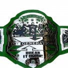DX GENERATION BREAK IT DOWN WRESTLING CHAMPIONSHIP BELT ADULT SIZE