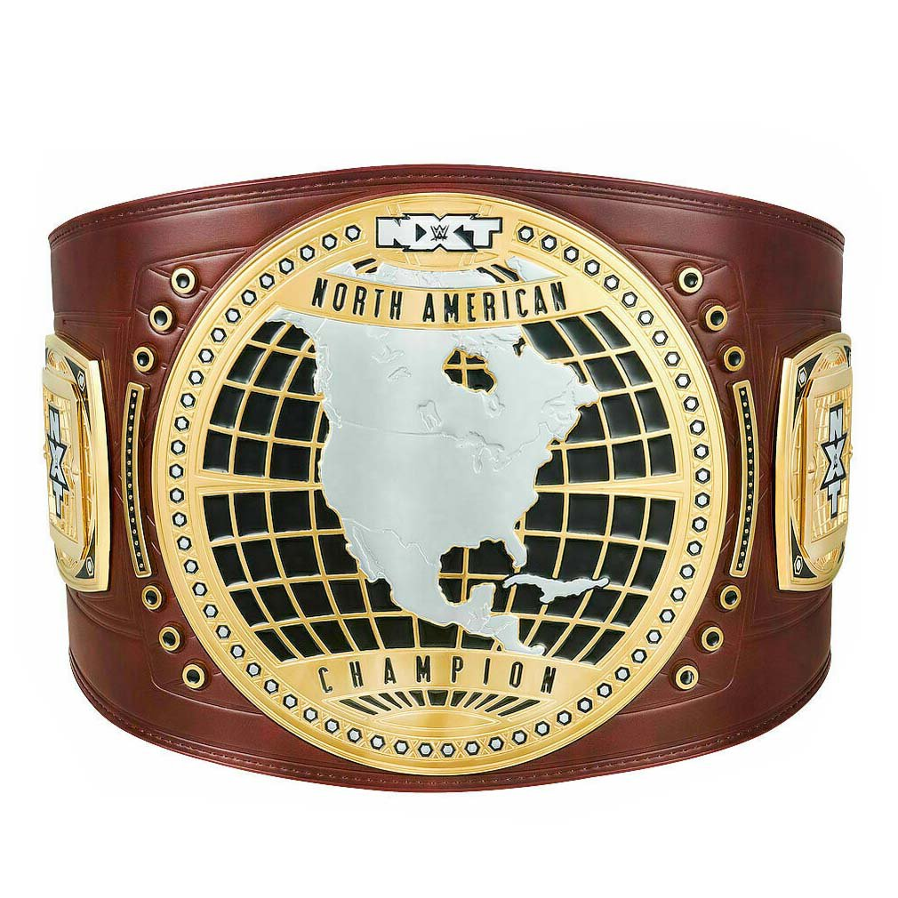 NXT NORTH AMERICAN WRESTLING CHAMPIONSHIP BELT LEATHER STRAP