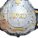 IWGP JR HEAVYWEIGHT WRESTLING CHAMPIONSHIP BELT ADULT SIZE BLACK LEATHER STRAP