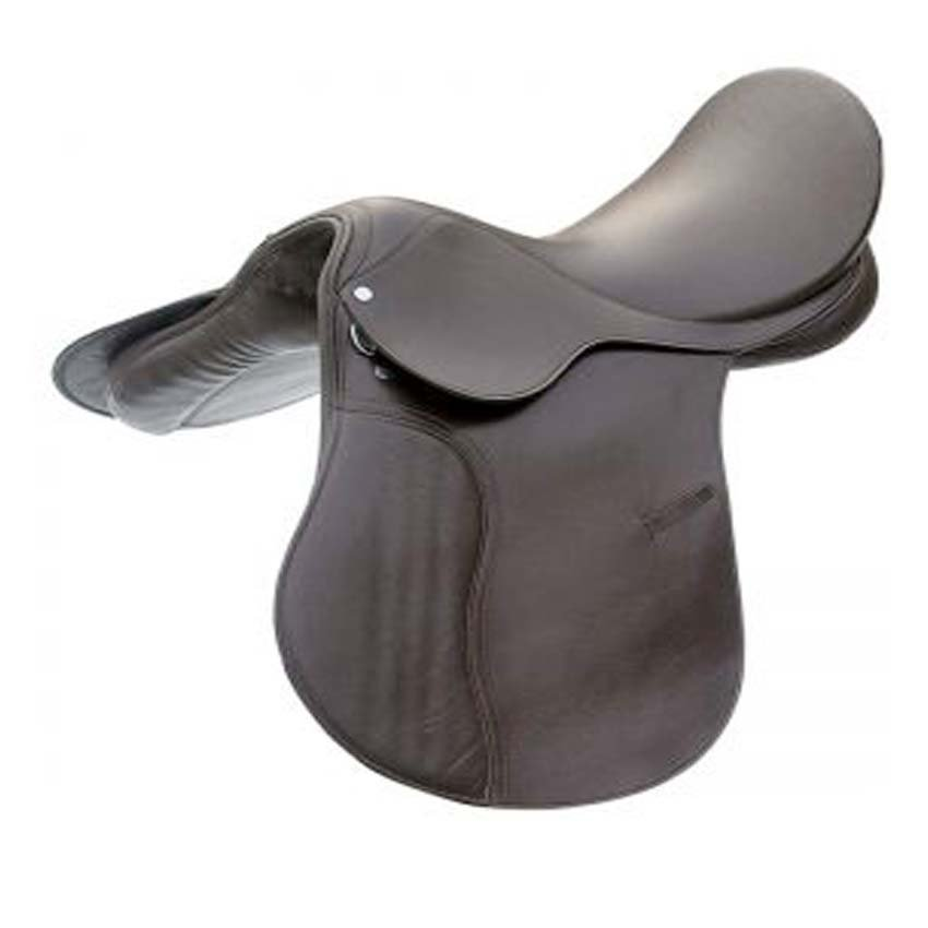HORSE RIDDING SADDLE PREMIUM QUALITY BLACK COLOR SIZE 13