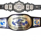 UNDERTAKER 30 YEARS SIGNATURE SERIES AND INTERCONTINENTAL IC OVAL WRESTLING CHAMPIONSHIP 2 BELT
