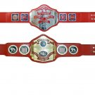 NWA TELEVISION AND NWA UNITED STATES HEAVYWEIGHT WRESTLING CHAMPIONSHIP 2 BELT DEAL ADULT SIZE