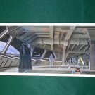 Vintage Star Wars Art 1980 ESB Ralph McQuarrie Portfolio Print #14 Darth on Death Star