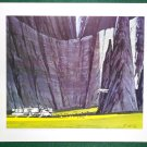Battlestar Galactica Ralph McQuarrie Portfolio Art Print #17 Tylium Mine