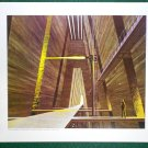 Battlestar Galactica Ralph McQuarrie Portfolio Art Print #20 In The Tylium Mine