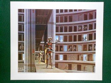 Battlestar Galactica Ralph McQuarrie Portfolio Art Print #16 The Ovions