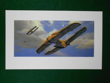 Star Wars Phantom Menace 1999 Doug Chiang Portfolio Art  Print #5 Trade Federation Ships