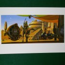 Star Wars Phantom Menace 1999 Doug Chiang Portfolio Print #11 Anakin & Podracer