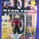 "Star Trek Generations 1994 Lieutenant Commander Riker ""1701-D"" - MINMP"
