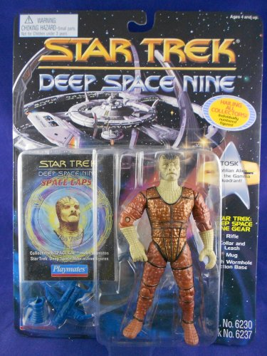 Star Trek Deep Space Nine Card 1993 � Tosk �Reptilian Alien� - Playmates - MINMP