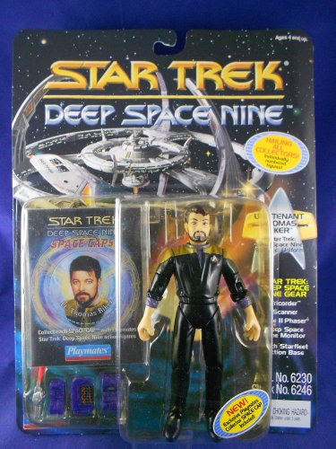 Star Trek Deep Space Nine Card 1994 � Commander Riker - Playmates - MIMP