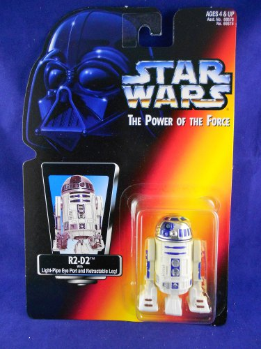 Star Wars POTF 2 1995 R2D2 - Red Card � MIMP Power of the Force