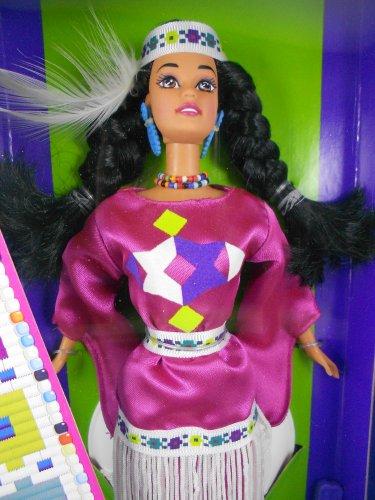 Barbie DOTW 1994 Native American 3rd Edition �Dolls of the World� � MIMP Mattel