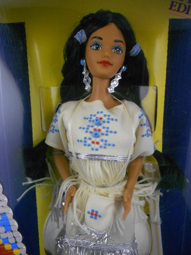 Barbie DOTW 1992 Native American Barbie �Dolls of the World� � MIMP � Mattel