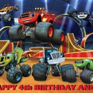 Blaze and the Monster Machines Party Edible image Cake topper