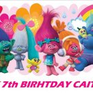Trolls Party Edible image Cake topper decoration