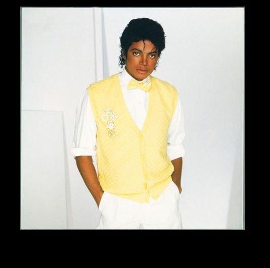 Michael Jackson 80's Edible image Cake topper decoration