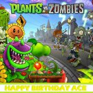 Plants vs Zombies Edible Cake topper decoration