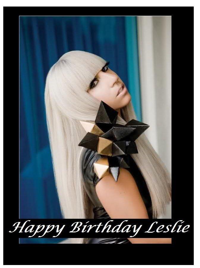 Lady Gaga  Edible image Cake topper decoration