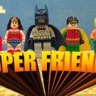 Lego Batman Superfriends Edible image Cake topper decoration
