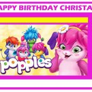 Popples Edible Cake topper decoration