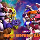 Five Nights at Freddy's Party  Edible image Cake topper decoration