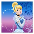 Cinderella Edible image Cake topper decoration