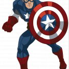 Captain America  Edible image Cake topper decoration