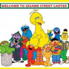 Sesame Street Big Bird Elmo Cookie Monster Edible image Cake topper decoration