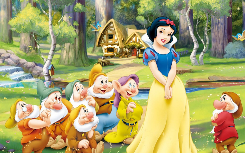 Snow White Edible image Cake topper decoration