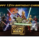Star Wars the Clone Wars Series Edible image Cake topper decoration