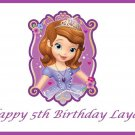Sofia the First  Edible Cake topper decoration