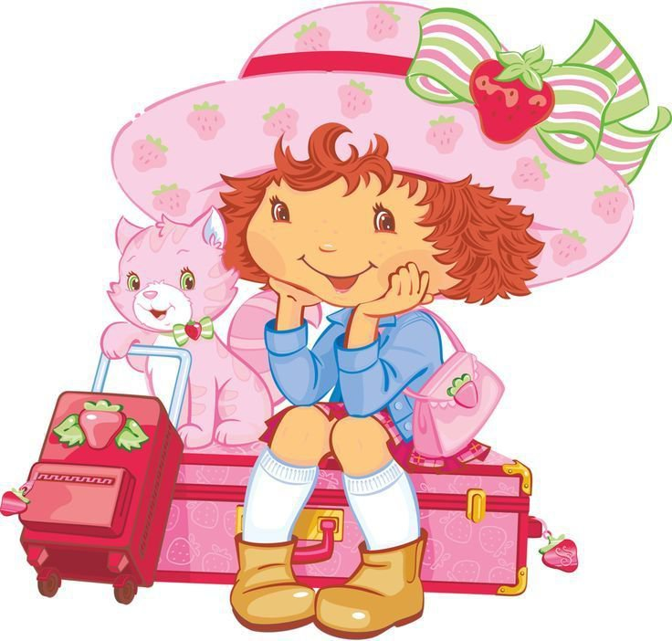 Strawberry Shortcake (2nd Generation) Party Edible image Cake topper decoration