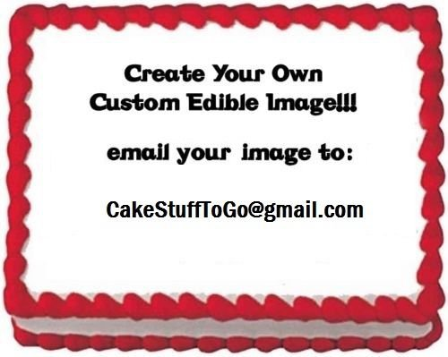 Your Personalized Photo Edible image Cake topper decoration