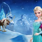 Frozen Elsa and Anna image Cake topper decoration