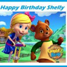 Goldie and Bear Party Edible Cake topper decoration