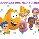 Bubble Guppies Edible Cake topper decoration