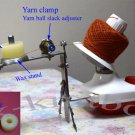 WOOL YARN WINDER with wax stand and Yarn clamp has tightness controller