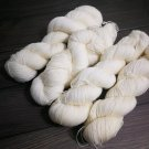 On Hanks Bare Undyed Yarn White Skein 75 Superwash Merino+25 Nylon Yarn Base