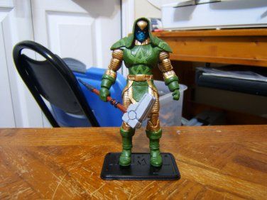 "Custom 3.75"" Marvel RONAN figure - poseable & MADE TO ORDER"
